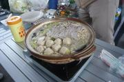 ごま豆乳鍋完成