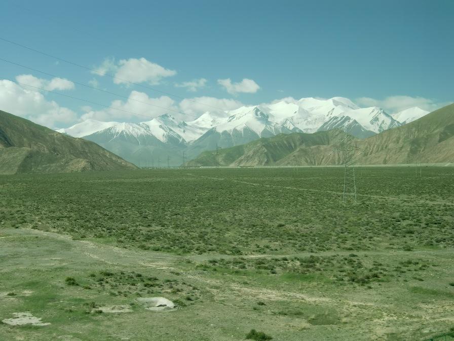 チベット鉄道車窓から
