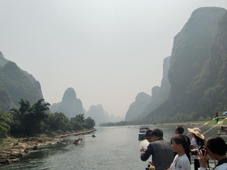 川下り景色