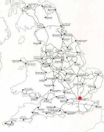 イギリスの鉄道網