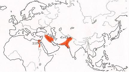 4000年前のユーラシア