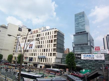 東急東横店とヒカリエ