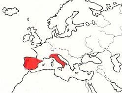 スペイン・ポルトガル・イタリア