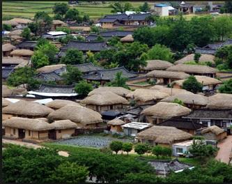 韓国】世界遺産の村落で火災、原...