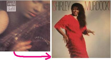 Love Is In Your Eyes  Angela Bofill --Shirley Murdock!