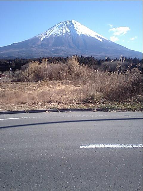 富士山(朝霧高原付近)