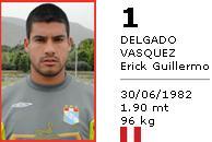 ペルー代表DELGADO VASQUEZ Erick Guillermo