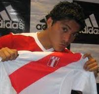 ペルー代表Daniel Chávez Castillo