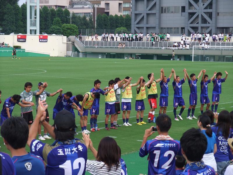 東京都サッカートーナメント 準決勝 vs.明治大学