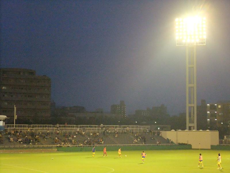 東京都サッカートーナメント 準決勝 横河武蔵野vs.専修大学2
