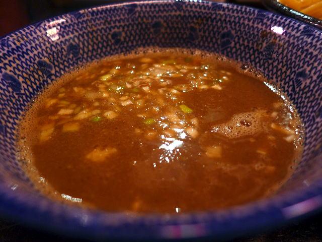 鰹煮干しらーめん 陽はまた昇る@01鰹煮干しつけ麺 3