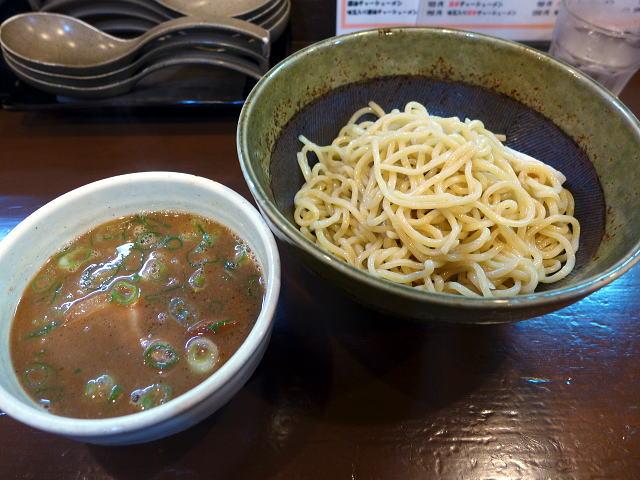 麺屋 たけちゃん@01魚介豚骨醤油 つけ麺 1
