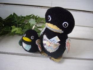 ペンギン親子♪