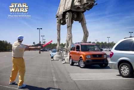Star Wars Weekends_Parking lot