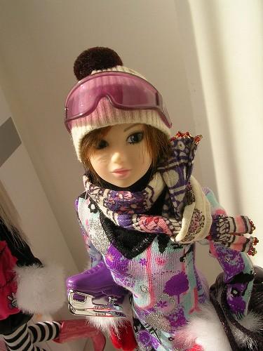 3Barbie トレンドファッション ウィンタースポーツ 041