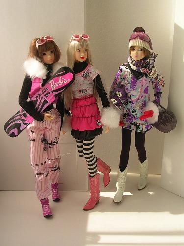 1Barbie トレンドファッション ウィンタースポーツ 060