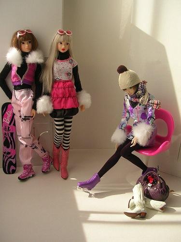 6Barbie トレンドファッション ウィンタースポーツ 081