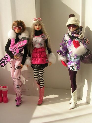 7Barbie トレンドファッション ウィンタースポーツ 028