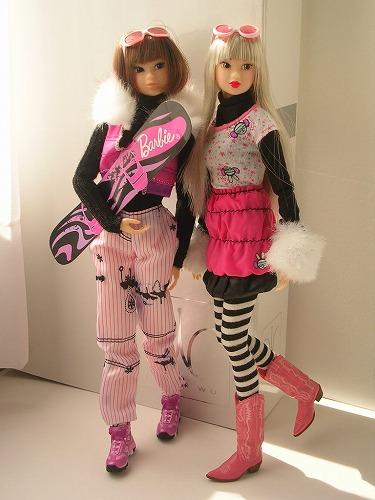 4Barbie トレンドファッション ウィンタースポーツ 076