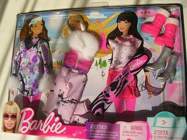 0Barbie トレンドファッション ウィンタースポーツ 014