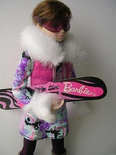 8Barbie トレンドファッション ウィンタースポーツ 094