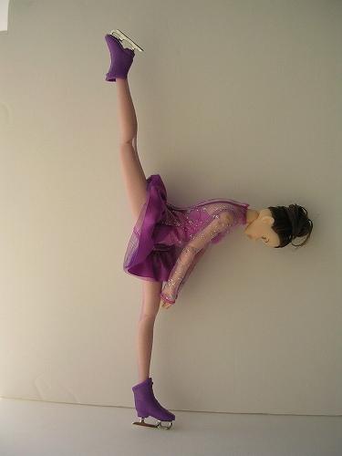 5Barbie キャリアファッション スケート06