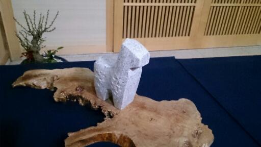 石彫  馬