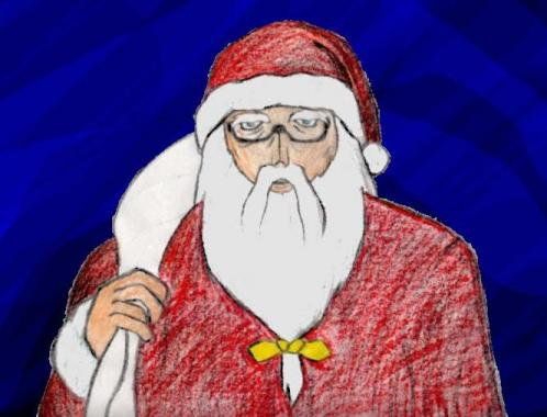 サンタおじさん