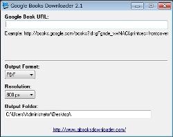 GoogleBooksDownloader