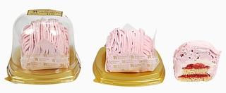 ふわっふわいちごクリームモンブラン
