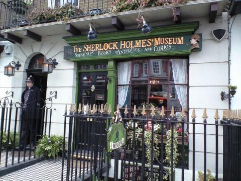 シャーロックホームズ博物館入り口