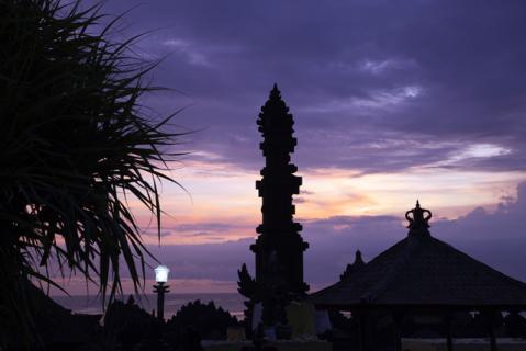 タナロット寺院夕景5