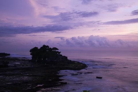 タナロット寺院夕景6