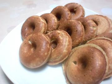 焼きなすの焼きドーナツ