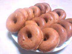 林檎の焼きドーナツ