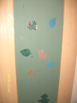 子供壁塗⑤
