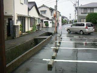 普段の雨降り☆