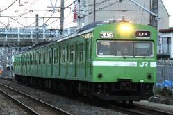 三国ヶ丘~堺市間(2011.3.21)