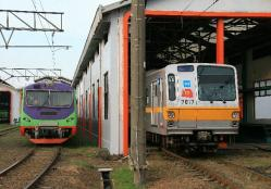 ブキットドゥリ電車区(2010.5.1)