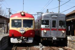 信濃川田(2011.4.17、許可を得て撮影)