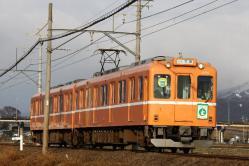 美濃高田~烏江間(2011.1.23)