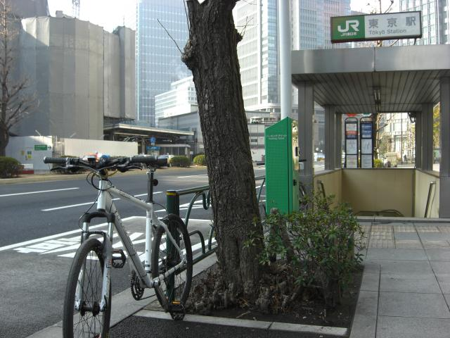 20100214東京駅で