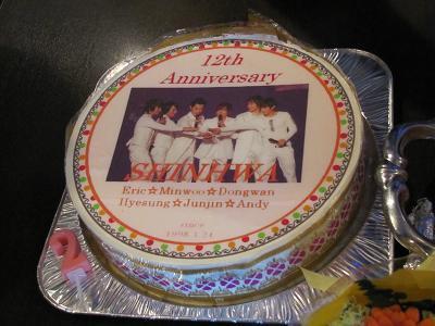 シナ12周年パーティー