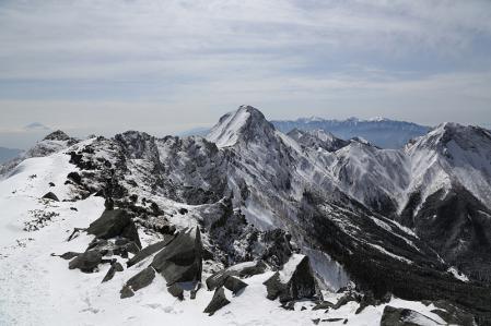 横岳からの展望 その1