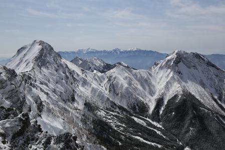 横岳からの展望その2