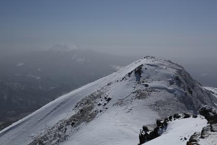 大日岳と御嶽