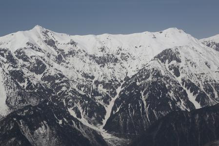 笠ヶ岳 積雪期に行ってみたい