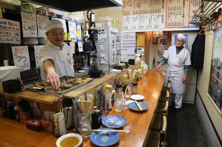 静岡おでん おばちゃん 店の雰囲気