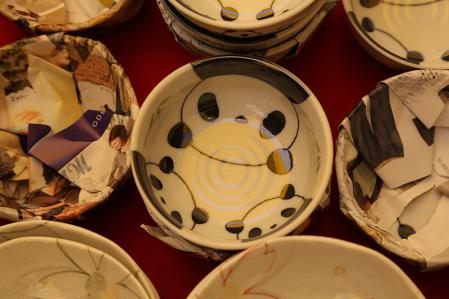 パンダ陶器