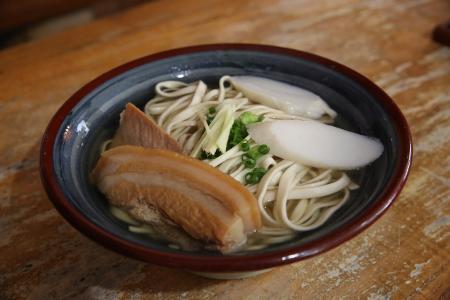 昼飯(首里そば)